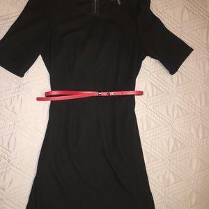 Black 1/4 Sleeved Dress